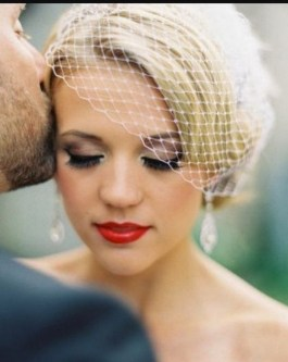 Bridal Makeup When Wedding in the Daytime 11