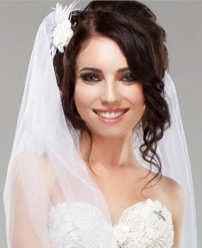 Bridal Makeup When Wedding in the Daytime 14