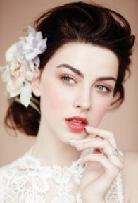 Bridal Makeup When Wedding in the Daytime 18