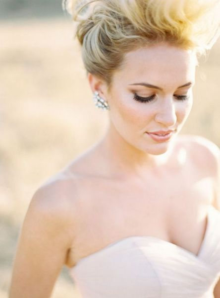 Bridal Makeup When Wedding in the Daytime 21