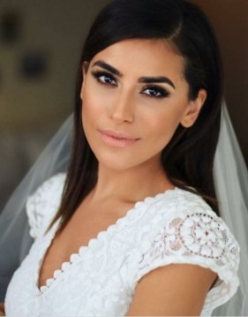 Bridal Makeup When Wedding in the Daytime 9