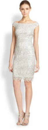 Classy evening shoulder lace dress for all special events 49