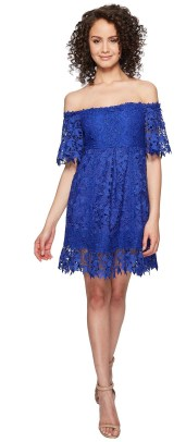 Classy evening shoulder lace dress for all special events 51