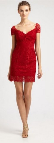 Classy evening shoulder lace dress for all special events 57