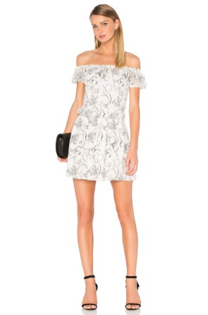Classy evening shoulder lace dress for all special events 59