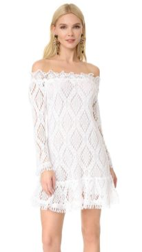 Classy evening shoulder lace dress for all special events 60