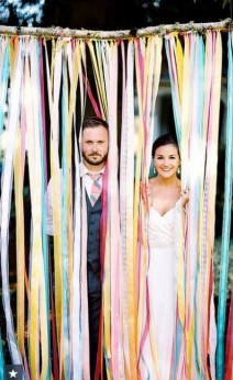 Creative And Fun Wedding day Reception Backdrops You Like Ideas 12