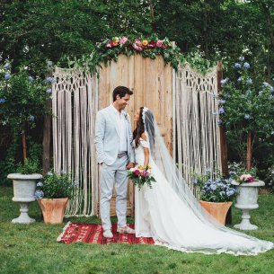 Creative And Fun Wedding day Reception Backdrops You Like Ideas 24