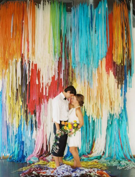 Creative And Fun Wedding day Reception Backdrops You Like Ideas 8