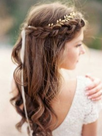 Easy DIY Wedding Day Hair Ideas 14