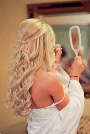 Easy DIY Wedding Day Hair Ideas 18