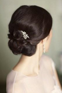 Easy DIY Wedding Day Hair Ideas 41