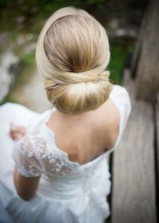 Easy DIY Wedding Day Hair Ideas 42
