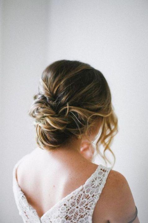 Easy DIY Wedding Day Hair Ideas 53