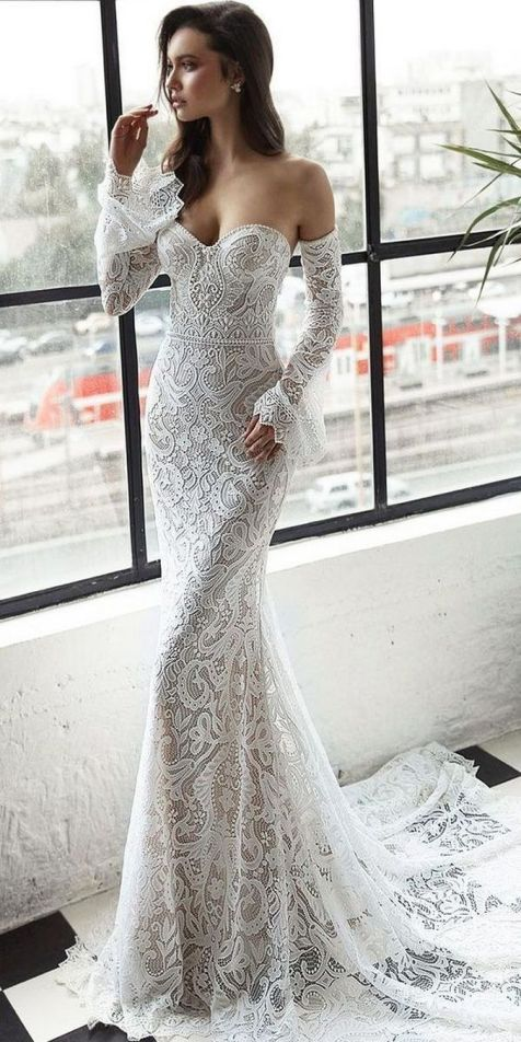 Embellished Wedding Gowns Ideas 11