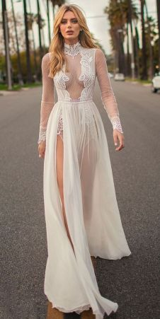 Embellished Wedding Gowns Ideas 14
