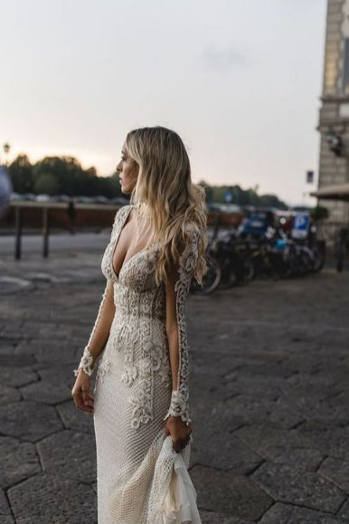 Embellished Wedding Gowns Ideas 18