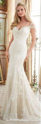 Embellished Wedding Gowns Ideas 21