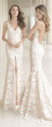 Embellished Wedding Gowns Ideas 22