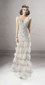 Embellished Wedding Gowns Ideas 23