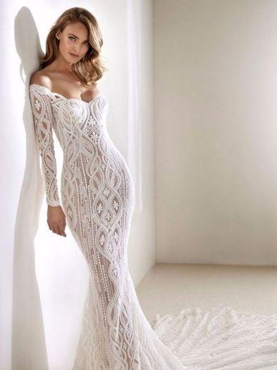 Embellished Wedding Gowns Ideas 27