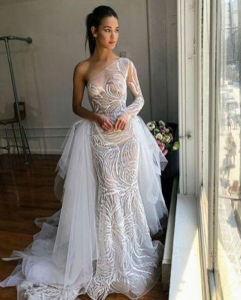 Embellished Wedding Gowns Ideas 32
