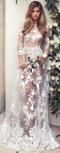 Embellished Wedding Gowns Ideas 6