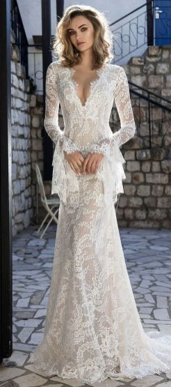 Embellished Wedding Gowns Ideas 8