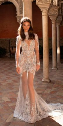 Embellished Wedding Gowns Ideas 9