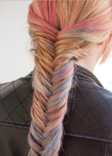 Fishtail Hairstyles for all situations 10