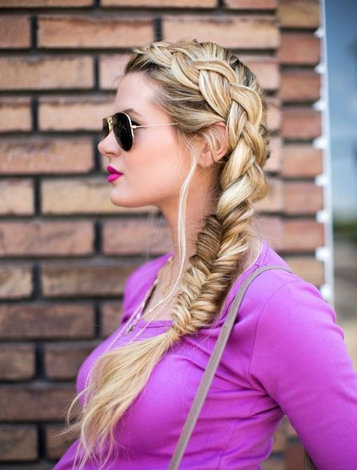 Fishtail Hairstyles for all situations 16