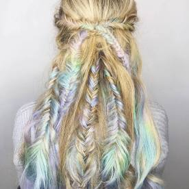Fishtail Hairstyles for all situations 24