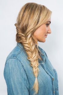 Fishtail Hairstyles for all situations 29