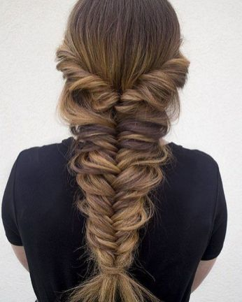 40+ Fishtail Braid Hairstyles for all situations Ideas ...