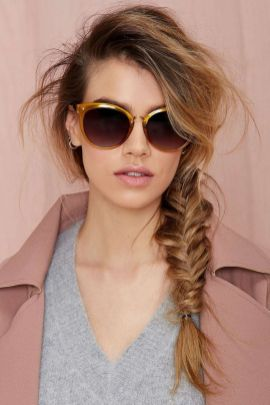 Fishtail Hairstyles for all situations 42