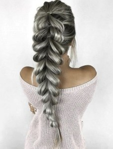 Fishtail Hairstyles for all situations 6