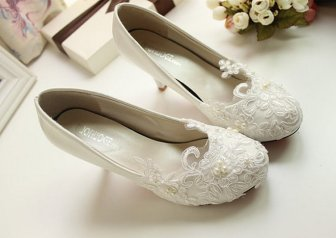 Floral Wedding Shoes Ideas You Never Seen Before 24