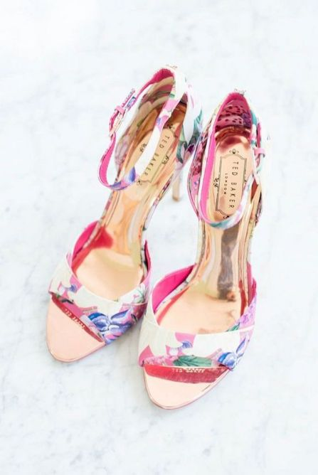 Floral Wedding Shoes Ideas You Never Seen Before 5