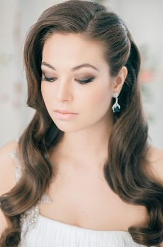 Hairstyles for long hair at wedding Ideas 2