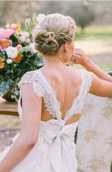 Hairstyles for long hair at wedding Ideas 26