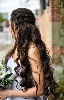 Hairstyles for long hair at wedding Ideas 27