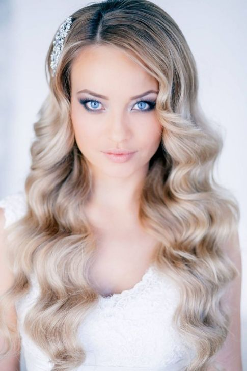 Hairstyles for long hair at wedding Ideas 4