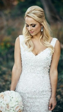 Hairstyles for long hair at wedding Ideas 49
