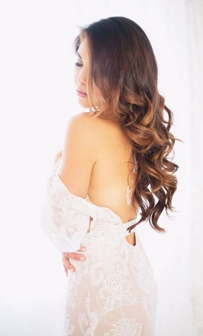 Hairstyles for long hair at wedding Ideas 61