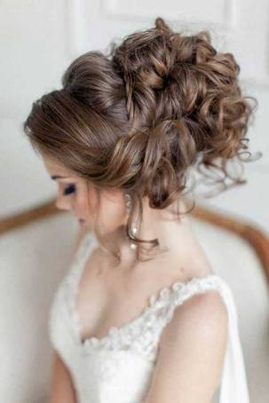 Hairstyles for long hair at wedding Ideas 64
