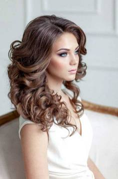 Hairstyles for long hair at wedding Ideas 74