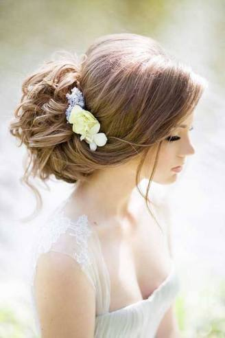 Hairstyles for long hair at wedding Ideas 75