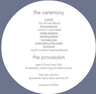 Simple Wedding Reception Program Sample Ideas 23