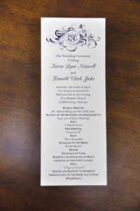 Simple Wedding Reception Program Sample Ideas 25
