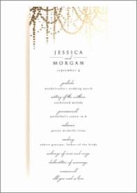 Simple Wedding Reception Program Sample Ideas 27